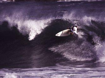 Spencer Hargraves. 1991. Foto: F. Muñoz