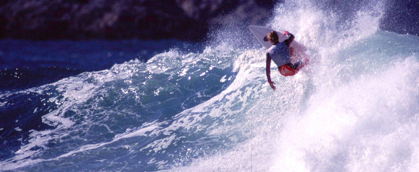Spencer Hargraves. 1990. Foto: F. Muñoz