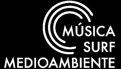 Logotipo Música, Surf, Medioambiente